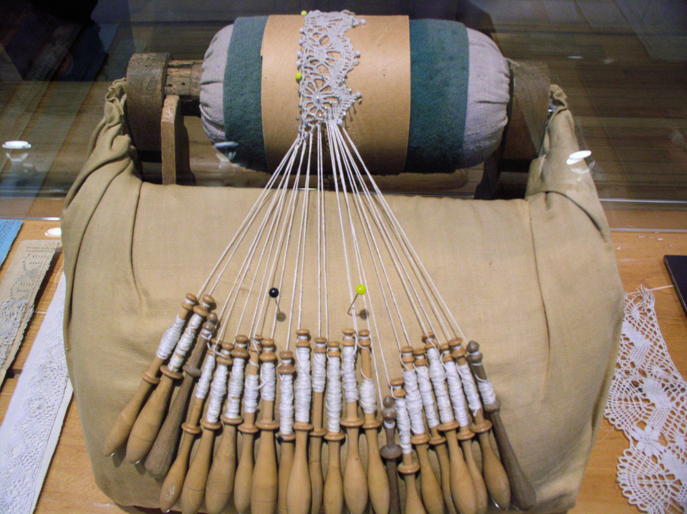 The Lace Bobbins Fly